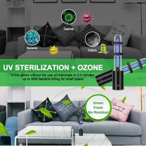 Image 4 - Rechargeable Ultraviolet UV Sterilizer Light Tube Bulb Disinfection Bactericidal Lamp Ozone Sterilizer Mites Lights