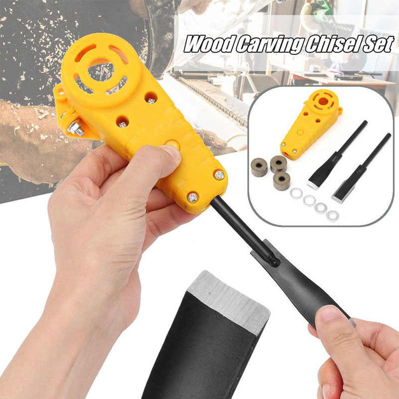 Tools : Electric Angle Grinder Power Chisel Woodworking Cutter Woodcarving Hand Tool Set High Carbon Steel Hand Wood Cutters Chisel