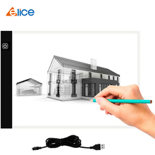 Elice A4 LED Light Pad Artcraft Tracing Box  Graphic Tablets Copy Board Drawing Painting Tablet Sketching