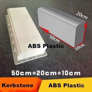 Дорожный боковый камень, скоростной тротуар, массовое строительство, АБС-пластик, прочные кости, карбюратор/курбстоун, форма