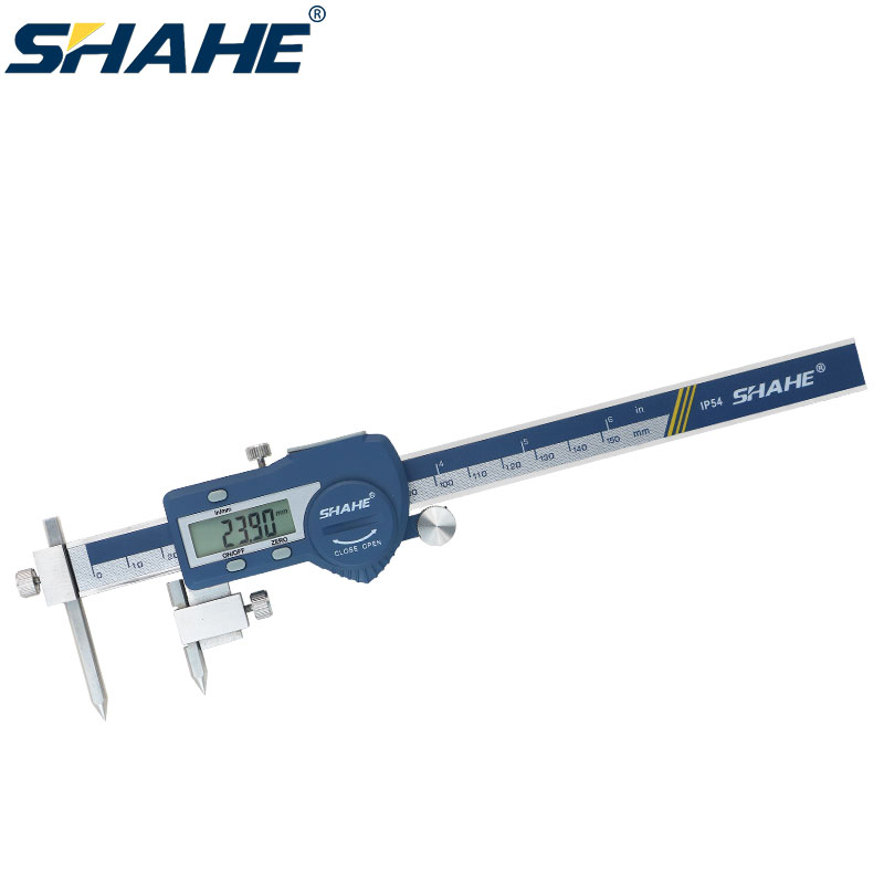 SHAHE 5-150 mm digital center distance caliper vernier caliper high precision electronic vernier calipers measuring tools