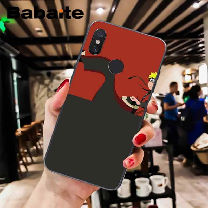 Babaite Naruto ağrı DIY lüks High-end koruyucu telefon kılıfı için XiaoMi 6 MIX2 8SE K20 REDMI 5A NOTE4X 7 6A Coque kabuk
