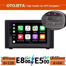 Для 2010 SAAB 93 9-3 2Din Android 10 автомобиль радио мультимедиа видео плеер навигации GPS 128GB Rom Авто Радио стерео с рамкой