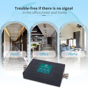 Image 4 - Amplificateur cellulaire répéteur GSM 3G 4G LTE 2600mhz amplificateur de Signal de téléphone portable 2G répéteur GSM 900/2100MHz 70dB bande 7,8, 1 + antenne