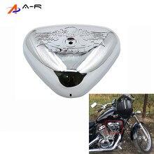 Para honda steed 400 600 vlx vlx400 vlx600 1988-1998 chrome plástico filtro de ar capa de filtro de admissão de ar mais limpo escudo protetor