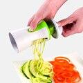 Портативный спиральный овощерезка, нож для резки фруктов, ручной нож для картофеля, салата, инструменты, кухонные гаджеты, аксессуары