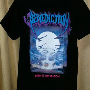 Benediction Reprint Band Cotton Black Men S 4Xl T Shirt Short Sleeve C361