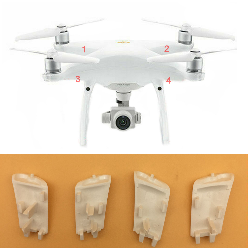 100% Genuine Landing Leg Gear Cover Case Repair Parts For DJI Phantom 4 Professional Advanced Spare Replacement Drone Body Shell