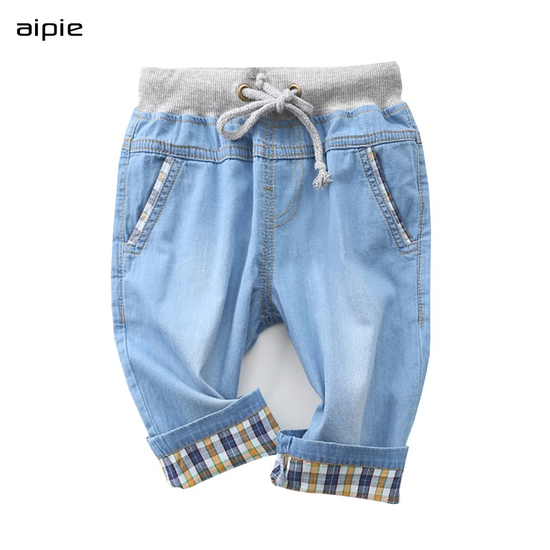 Children Shorts Clothing Cotton Denim Casual New Fashion Solid for 2-7-Years Fabric Boy's