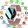 LIGE 2021 Fashion Smart Watch Ladies Heart Rate Blood Pressure Multifunctional Sport Watch Men Woman Waterproof Smartwatch Women 1