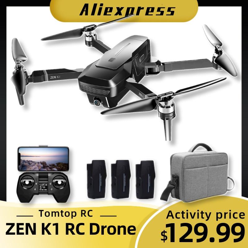 VISUO ZEN K1 RC Drone 5G WIFI GPS sans brosse 50X Zoom 4K double caméra 30 minutes temps de vol beauté filtre Figure RC quadrirotor Drone