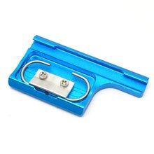 купить CNC Aluminum Alloy Back Door Lock Buckle Clip for GoPro Hero 4 3+ Standard Camera Case Mount Go Pro Hero 4 Cam Accessory по цене 116.58 рублей