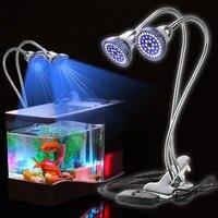 24W Slim LEDs Aquarium Lighting Aquatic Plant Lamp For Fish Tank LED Plants Grow Light Fish Tank Light Aquarium LED Bar Light