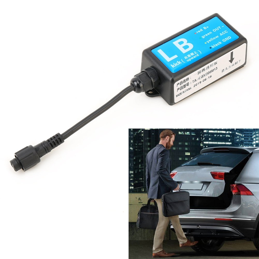 Universal Car Smart Trunk Opener IP67 Waterproof 9-24V Car Keyless-Go Easy Open Automatic Sensor System Smart Trunk Opener