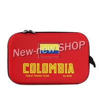 Yinhe 8009 Original table tennis case ping pong case for Colombia National teamckets case racquet sports ping pong