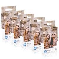 Topcolor HP Фотобумага ZINK для HP Звездочка фотопринтер Bluetooth печать карманный мини клейкая фотобумага 5*7,6 см