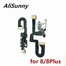 AliSunny 1pcs מצלמה קדמית להגמיש כבל עבור iPhone 8 בתוספת 5.5 8G 8 בתוספת מול קטן מצלמת אור Promixity חיישן החלפת חלקים