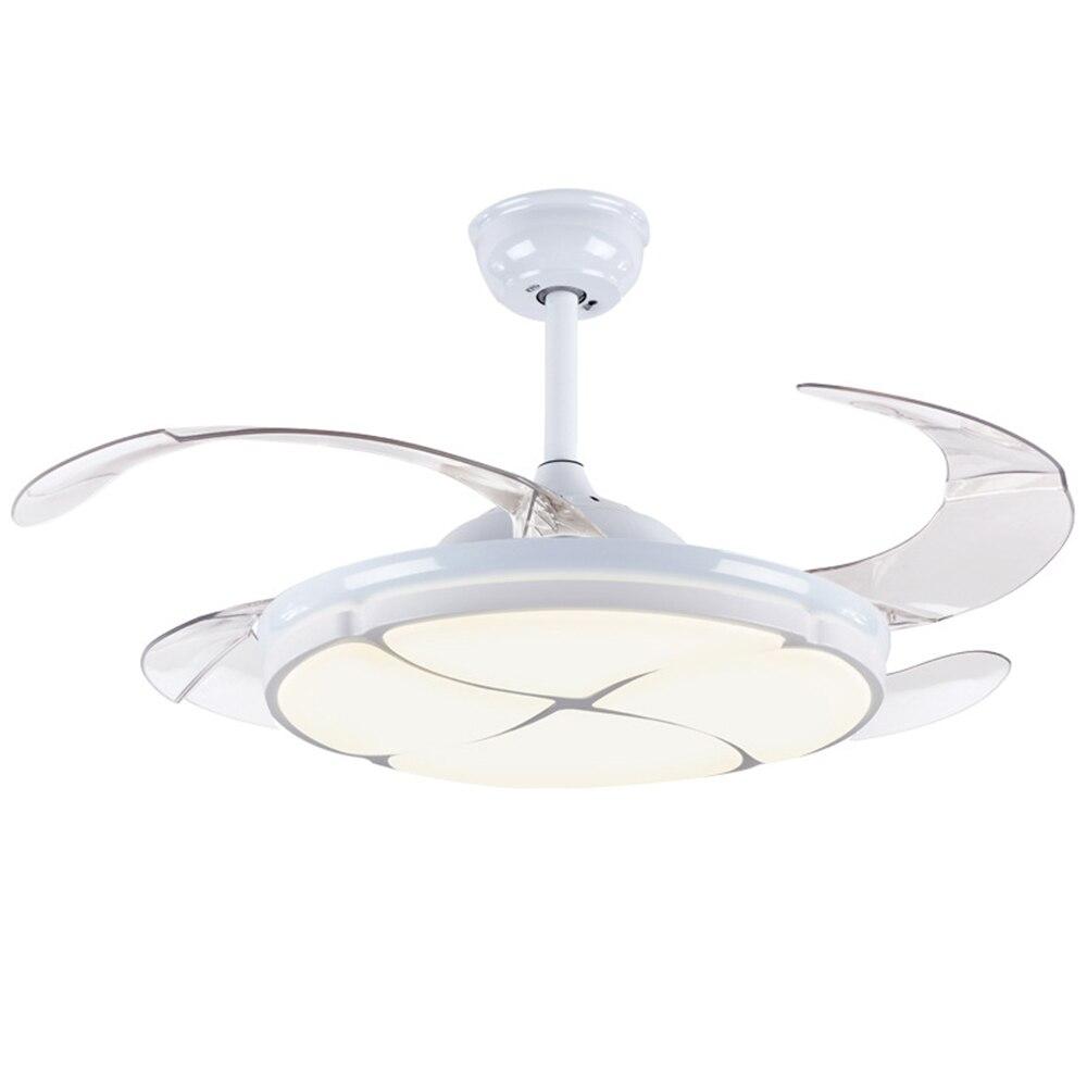 42 Inch Ceiling Fan Modern Silent Light