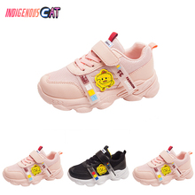 Spring Autumn Fashion Brand Children Shoes Boys Girls Sports Shoes  Casual Breathable Outdoor Kids Sneakers Girls Running Shoes 2018 european sports children footwear spring autumn cool sneakers baby breathable girls boys shoes lovely light kids shoes
