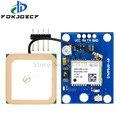 GY-NEO6MV2 новый телефон с GPS-модулем 3V-5V NEO6MV2 с управлением полетом EEPROM MWC APM2.5 большая антенна для arduino