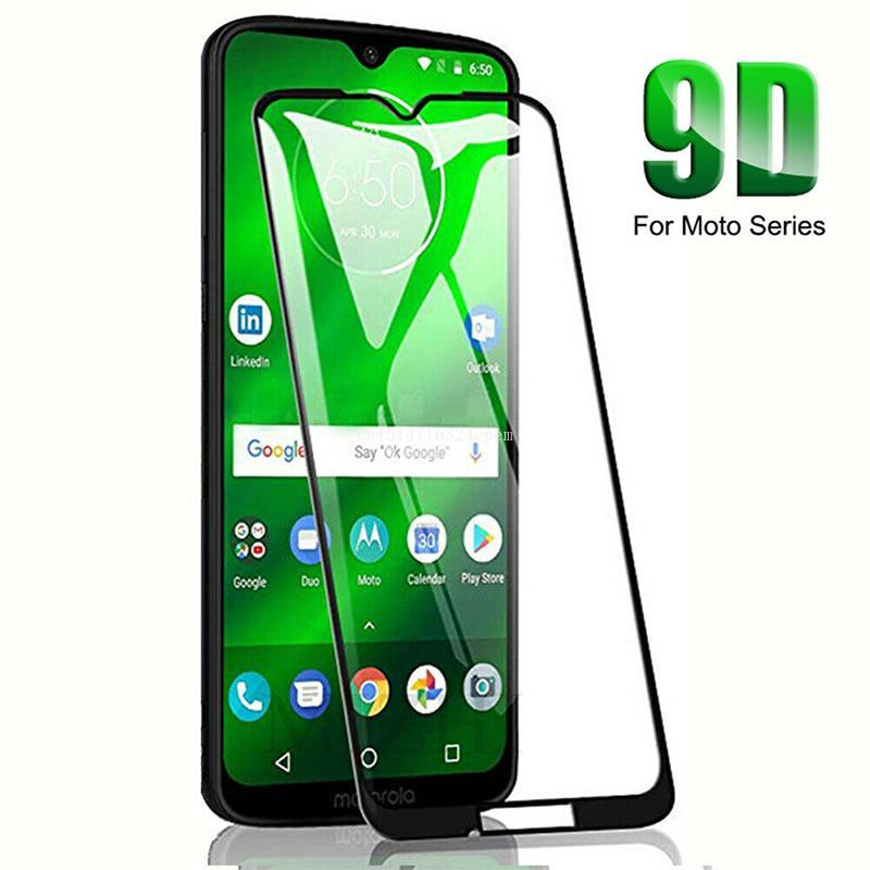 Screen Protector Tempered Glass Protective Film For Motorola Moto G7 Play G7 Power E4 Plus G6 Plus image
