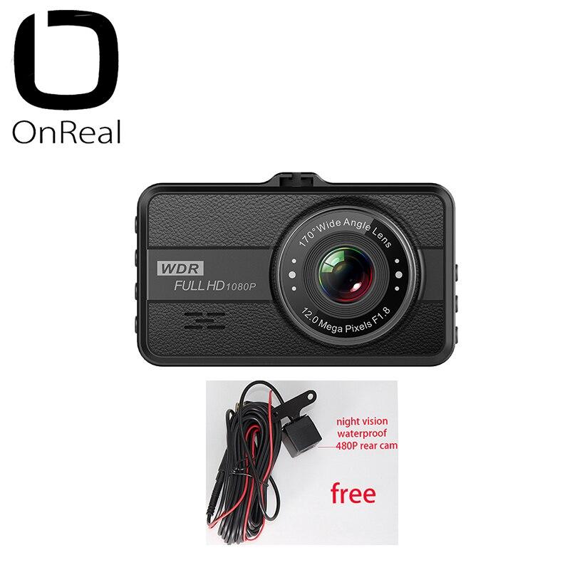 1080P dash камера OnReal Q10 3,0 дюймов ips экран 1080P 30FPS 200 мАч батарея автомобильный видеорегистратор мини Автомобильная камера 1080P Автомобильный видеорегистратор-in Видеорегистратор from Автомобили и мотоциклы