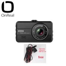 1080P dash caméra OnReal Q10 3.0 pouces IPS écran 1080P 30FPS 200mAh batterie voiture DVR mini voiture caméra 1080P voiture enregistreur vidéo