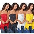 Блузка женская кружевная без рукавов, пикантная Модная рубашка в стиле пэчворк, повседневный Топ, на лето
