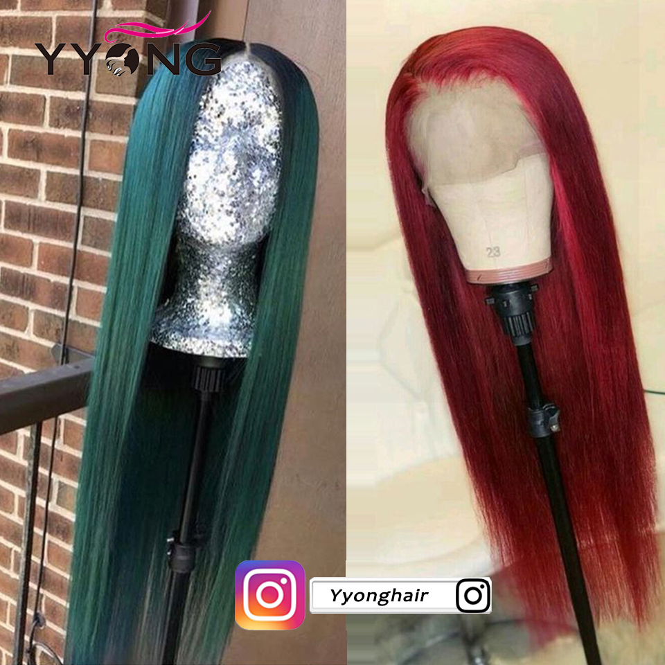 Yyong Hair Glueless Full Lace  Wigs With Baby Hair  Straight  Full Lace Wigs Low Ratio 6