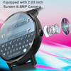 LEMFO LEM X 4G Smart Watch Android 7.1 With GPS Sim Card WIFI 2.03 Inch Screen 8MP Camera Heart Rate Smartwatch for Men Women 3