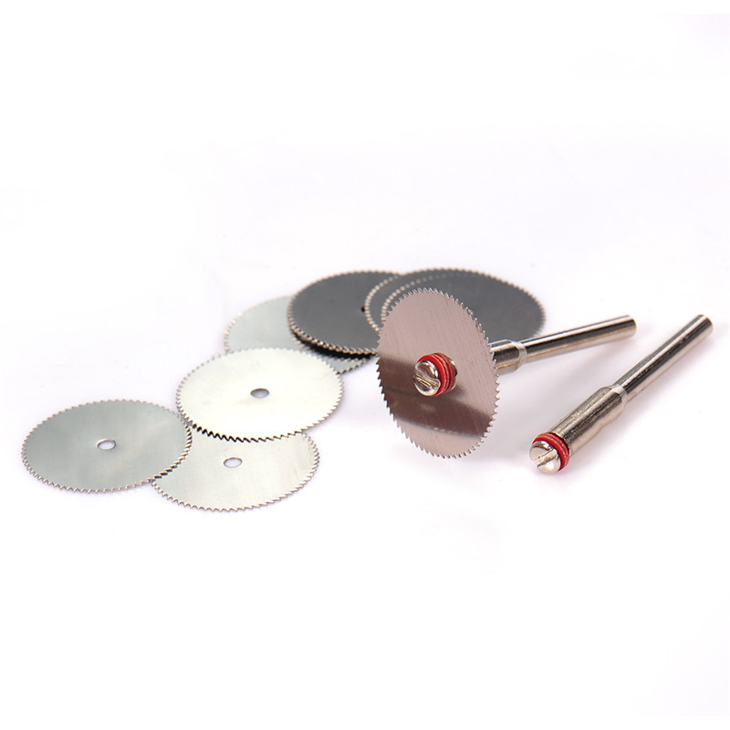 5Pcs 22x0.3mm Stainless Steel Cutting Disc Circular Saw Blade Abrasive Tools For Dremel Rotary Tool Dremel Accessories