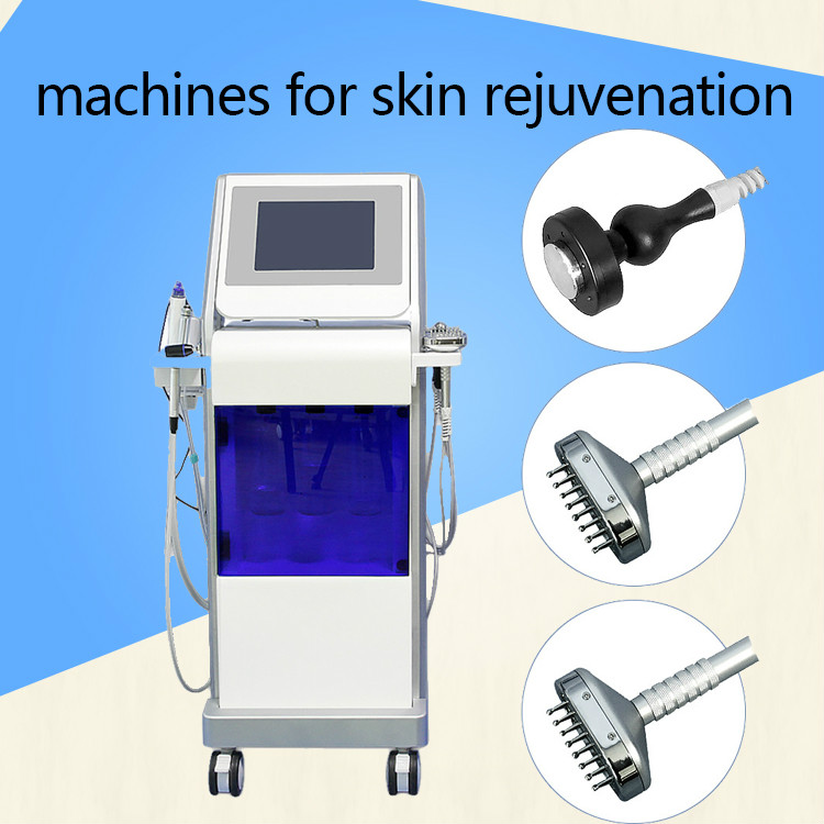 2019 Hydro  Deep Cleaning Hydra Crystal  Machine Oxygen Hydra Facial Machines For Skin Rejuvenation