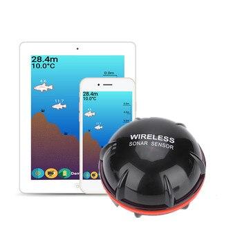 Wireless Fisch Finder sonar sensor Echolot Angeln Finder Finder