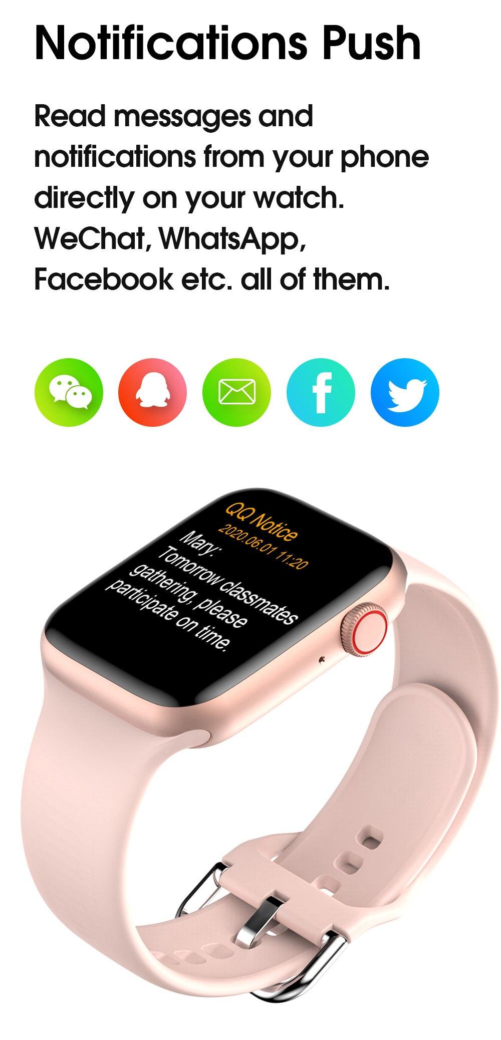 H0333f8bc5bbd47f89dcab079429754ceG TREZER IWO W26+ Pro Smart Watch 1.75 Inch 320*385 Series 6 IPS Full Touch Screen Custom Watch Face Smartwatch Men Women PK HW22