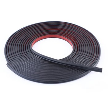 Car B-Type Sealing Strip Door Sound Insulation Strip Leakproof Wind And Dust Waterproof Strip Modified Wing Crash Strip image