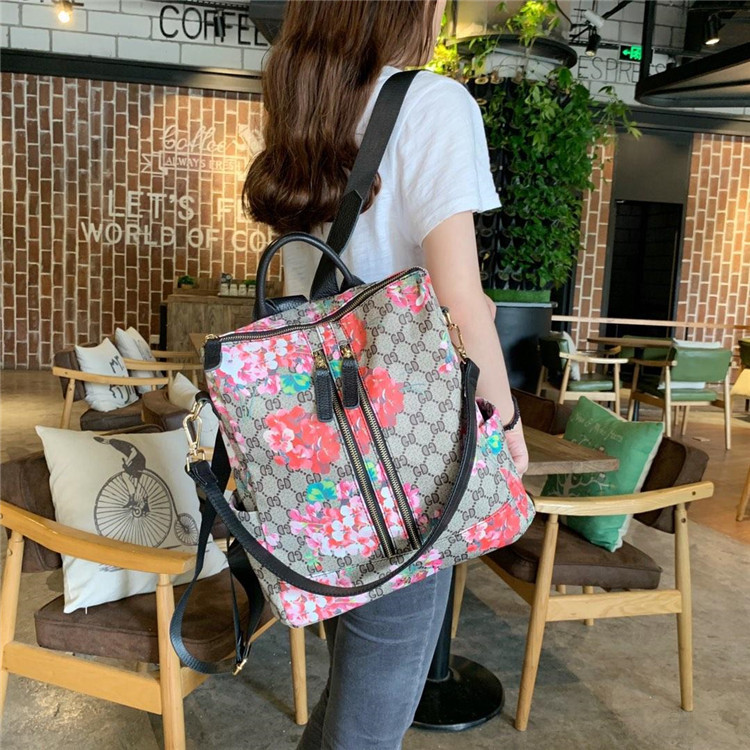 2019 New Style Women's Backpack Oxford Cloth Bag Colored Cloth WOMEN'S Bag Korean-style Fashion Backpack 16413