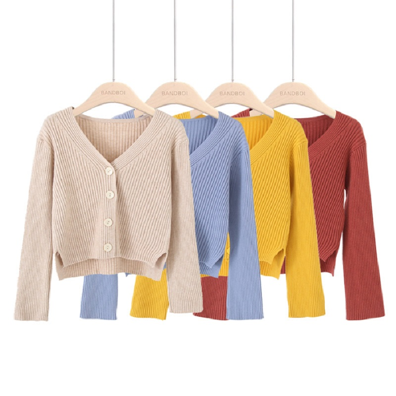 Autumn winter Knitted soft Pure color pit short cardigans Sweater cardigan Women 2019 knit sweater female V neck cardigan coat-in Cardigans from Women's Clothing on AliExpress - 11.11_Double 11_Singles' Day 1