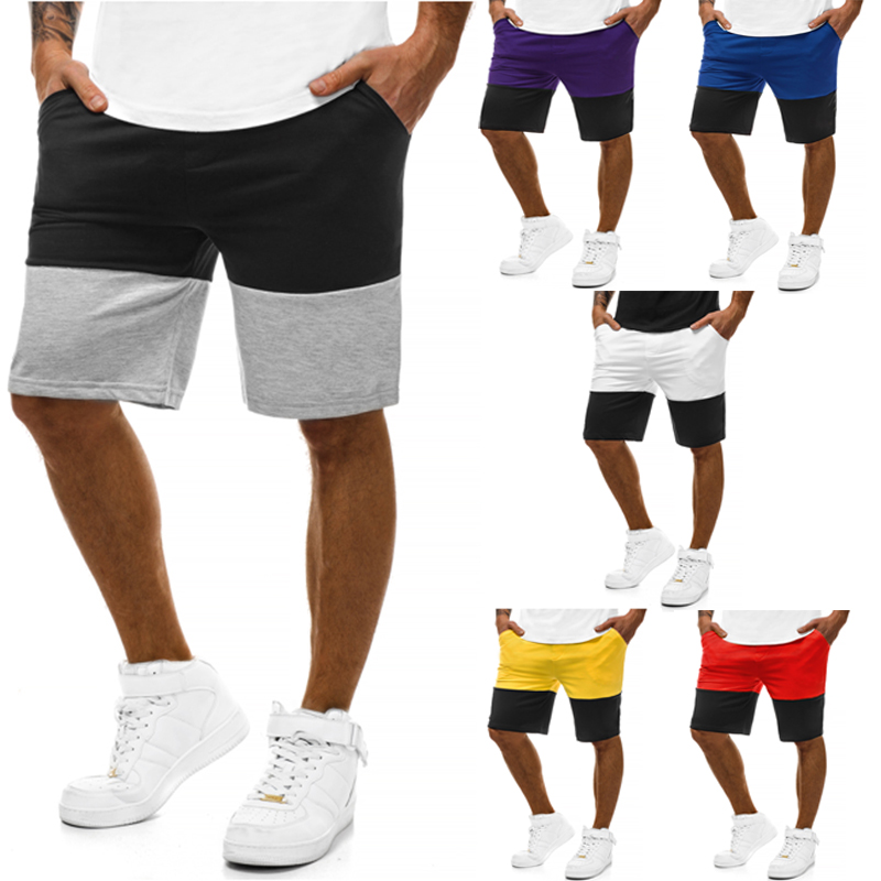 4PC Summer Shorts Men 2019 Casual Shorts Trunks Fitness Workout Beach Shorts Man Breathable Cotton Gym Short Trousers S-4XL