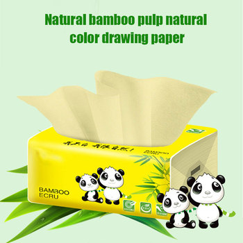 1 Pcs Tissue Napkin Paper Soft Skin-Friendly 3 Layer Portable for Toilet Home Bathroom MH88