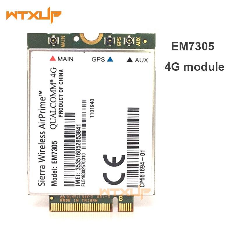 Sierra wireless Airprime 3/G 4/G EM7305/LTE HSPA GPS 100/Mbps NGFF M.2