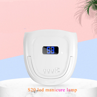 15600Ah Battery Rechargeable UV LED Nail Lamp Gel Nail Polish Dryer Manicure Gel Nails Lamp Drying For All Kinds of Gel