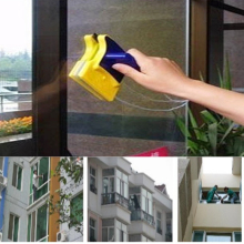 Double-sided cleaning brush magnetic window glass household surface tool