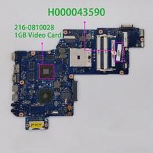 Протестированная материнская плата для ноутбука Toshiba Satellite L870 C870 L870D C870D H000043590 w 216 0810028 1G Vram
