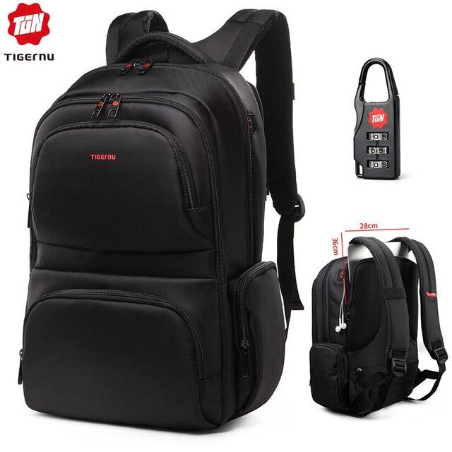 Tigernu Brand Waterproof 15.6 Inch Laptop Backpack Leisure School Backpacks Bags mens backpack schoolbag for teenagers girls