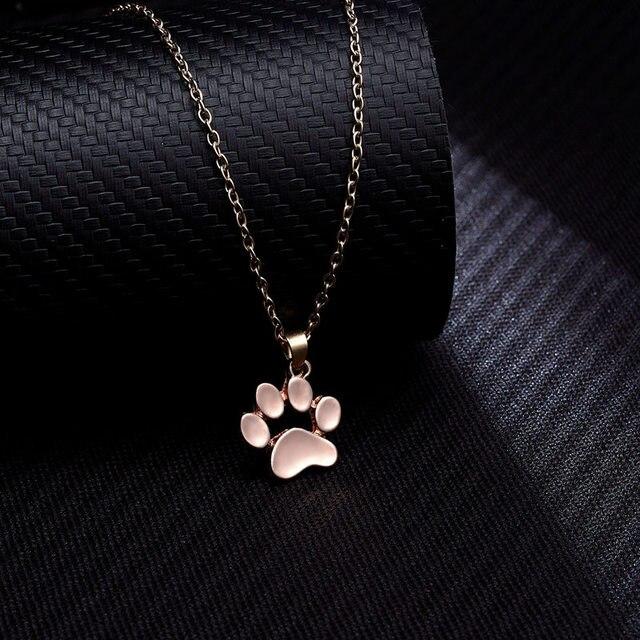 Dog Paw Footprint Necklace 5