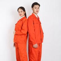 Work Clothing Unisex Uniform Long Sleeve Coveralls Protective Cloth for Worker Repairman Machine Auto Repair Welding DYF0082