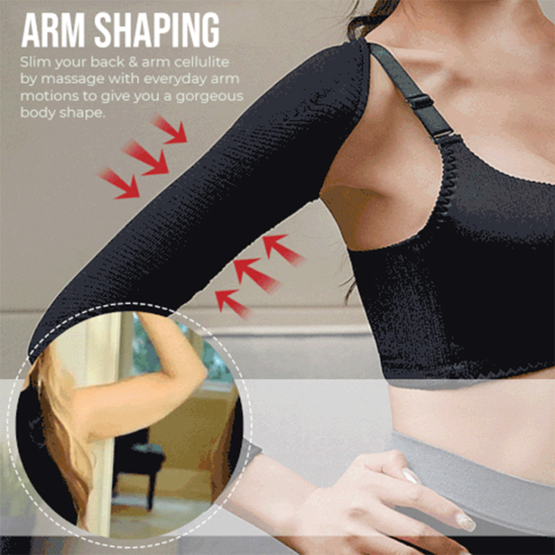 2-in-1 Arm Shaping Sleeves Posture Supporter