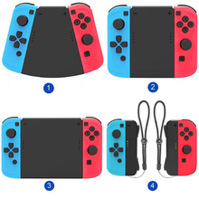 1set 5 in 1 Connector Pack Hand Grip Cover for Nintend Switch Joy Con Gamepad High tech Surface Treatment Technology Strong
