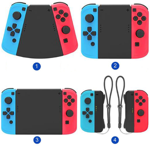 Image 1 - 1set 5 in 1 Connector Pack Hand Grip Cover for Nintend Switch Joy Con Gamepad High tech Surface Treatment Technology Strong