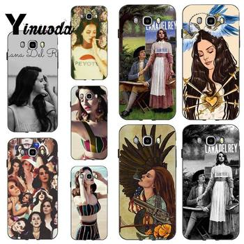 Yinuoda Lana Del Rey Funny Fashion Soft Phone Case Cover for samsung a30 A30S a51 a50 a71 A40 A70 A21 A21S a11 a91 image
